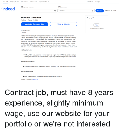 Find Jobs Company Reviews Find Salaries Find Resumes