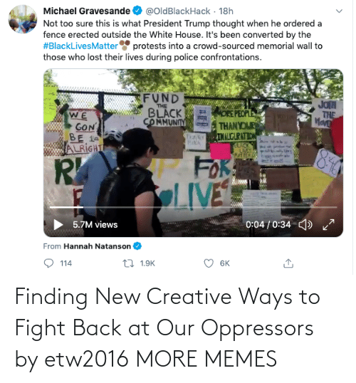 Ways: Finding New Creative Ways to Fight Back at Our Oppressors by etw2016 MORE MEMES