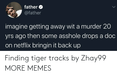 Hilarious: Finding tiger tracks by Zhay99 MORE MEMES