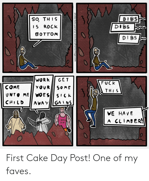 Cake: First Cake Day Post! One of my faves.