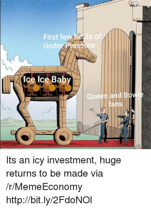 Pressure, Under Pressure, and Http: First fewzbeats of  Under Pressure  n and B  fans Its an icy investment, huge returns to be made via /r/MemeEconomy http://bit.ly/2FdoNOl