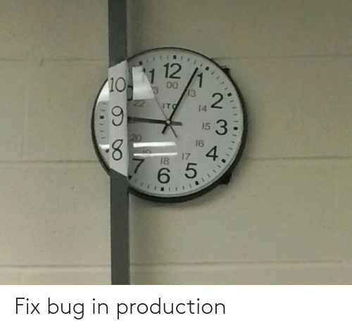 bug: Fix bug in production