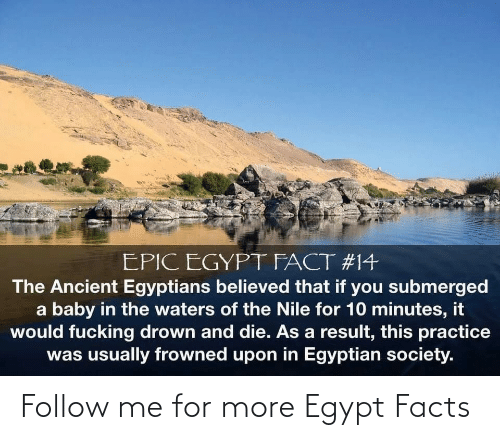 follow: Follow me for more Egypt Facts