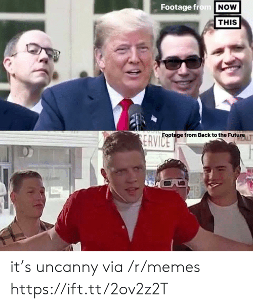 Back to the Future, Future, and Memes: Footage from NOW  THIS  Footage from Back to the Future  ERVICE it's uncanny via /r/memes https://ift.tt/2ov2z2T