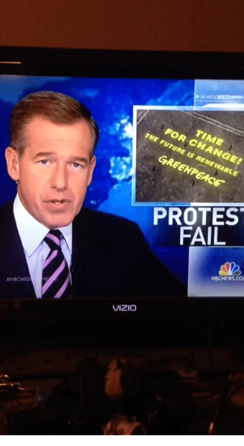 Fail, Nbcnews, and Vizio: FOR CHANGE  PROTES  FAIL  NBCNEWS.CO  NBCNIG  VIZIO