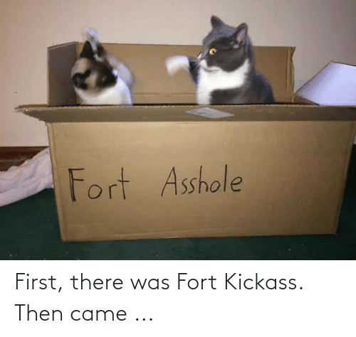 kickass: Fort Asshole First, there was Fort Kickass. Then came ...
