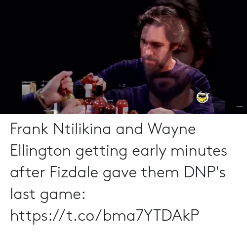 frank: Frank Ntilikina and Wayne Ellington getting early minutes after Fizdale gave them DNP's last game:   https://t.co/bma7YTDAkP