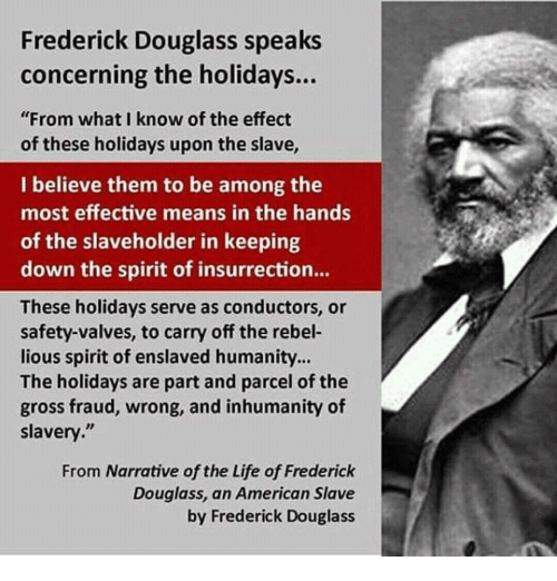 frederick douglass and slavery essay Frederick douglass in his narrative such hardships included slaves working in huge plantations and were treated as animals there were no laws that could protect slavery and the atrocities against them were never talked about.