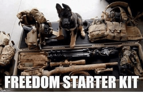 Memes, Starter Kit, and Freedom: FREEDOM STARTER KIT