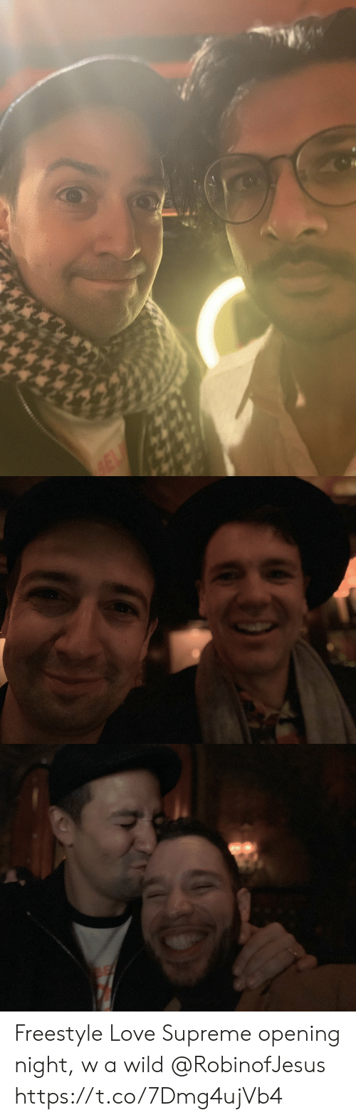 Love, Memes, and Supreme: Freestyle Love Supreme opening night, w a wild @RobinofJesus https://t.co/7Dmg4ujVb4