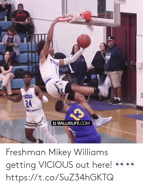 williams: Freshman Mikey Williams getting VICIOUS out here! 👀👀 https://t.co/SuZ34hGKTQ