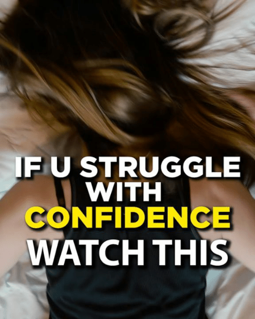 Confidence, Memes, and Struggle: FU STRUGGLE  WITH  CONFIDENCE  WATCH THIS