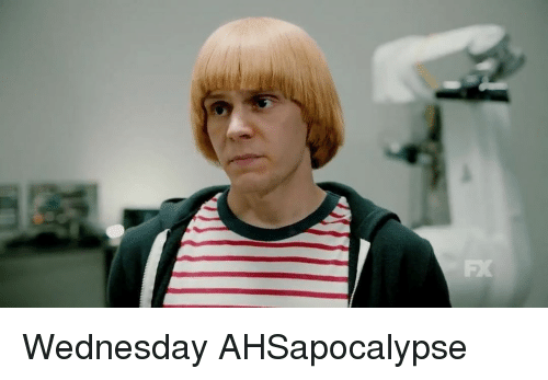 Memes, Wednesday, and 🤖: FX Wednesday AHSapocalypse