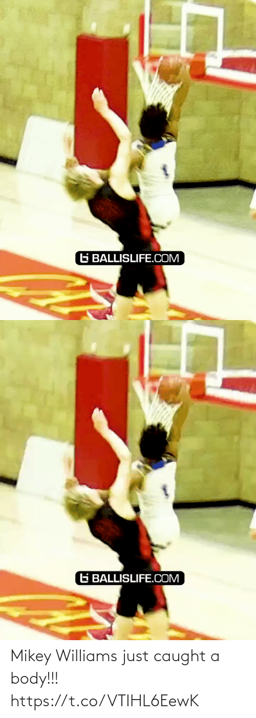 Caught: G BALLISLIFE.COM   G BALLISLIFE.COM Mikey Williams just caught a body!!! https://t.co/VTIHL6EewK