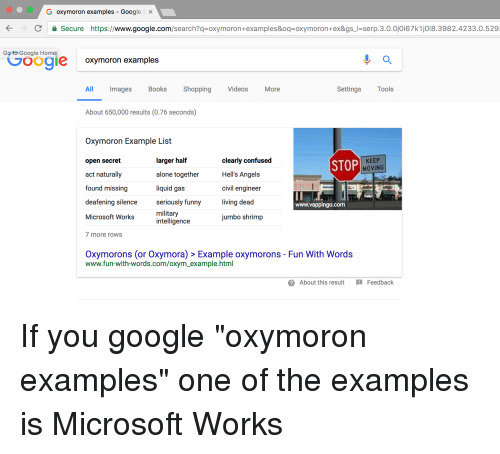 25 Best Memes About Oxymoron Examples Oxymoron Examples Memes