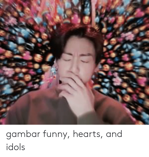 Gambar: gambar funny, hearts, and idols