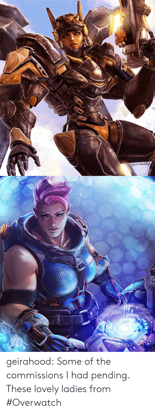 Tumblr, Blog, and Http: GeivahodAd geirahood: Some of the commissions I had pending. These lovely ladies from #Overwatch