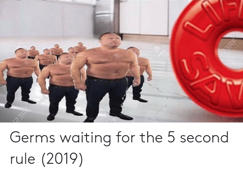 Waiting..., Germs, and For: Germs waiting for the 5 second rule (2019)
