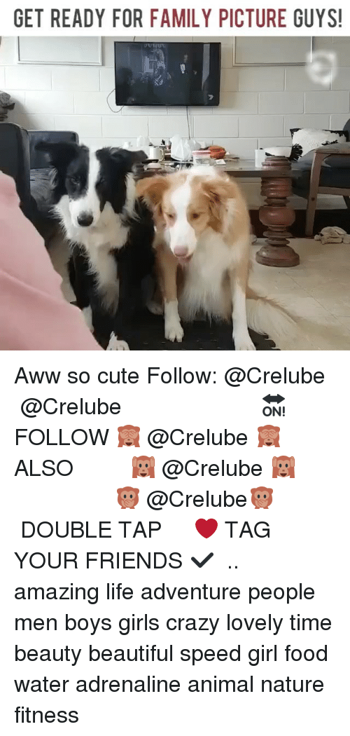 awws: GET READY FOR FAMILY PICTURE GUYS! Aww so cute Follow: @Crelube ⠀⠀⠀⠀ ⠀@Crelube ⠀⠀⠀⠀ ⠀⠀ ⠀⠀⠀⠀⠀ ⠀⠀🔛FOLLOW 🙈 @Crelube 🙈 ⠀⠀⠀⠀ ⠀⠀⠀⠀⠀⠀ALSO ⠀ 🙉 @Crelube 🙉 ⠀ ⠀⠀ ⠀ ⠀ ⠀ ⠀ ⠀ ⠀⠀⠀⠀⠀ 🙊 @Crelube🙊 ⠀⠀⠀⠀ ⠀ ⠀⠀⠀⠀ DOUBLE TAP ❤️ TAG YOUR FRIENDS ✔️ ⠀⠀⠀⠀ .. amazing life adventure people men boys girls crazy lovely time beauty beautiful speed girl food water adrenaline animal nature fitness