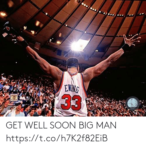 Soon...: GET WELL SOON BIG MAN https://t.co/h7K2f82EiB