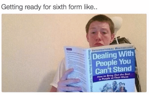 Best, You, and For: Getting ready for sixth form like.  ENTERNATONAL BESTsELLR  Dealing With  People You  Can't Stand  Hew to Bring Out the Best  in People at Their Worst  Dealing With  People You Cant Stand