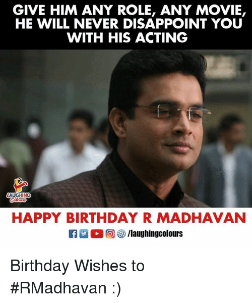 Birthday Happy And GIVE HIM ANY ROLE MOVIE