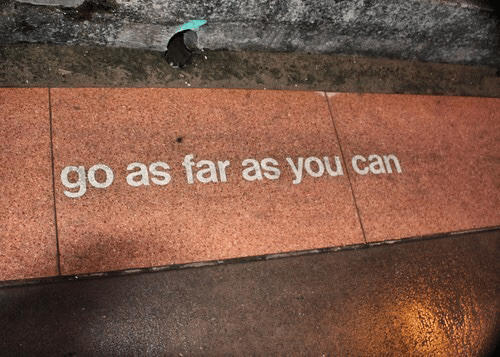 Can, You, and Far: go as far as you can