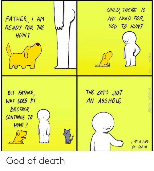 Death: God of death