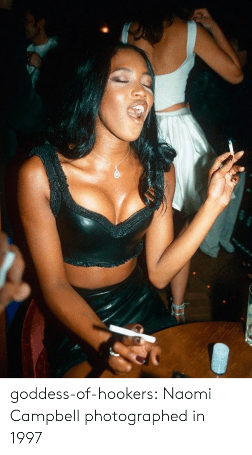 Tumblr, Naomi Campbell, and Blog: goddess-of-hookers: Naomi Campbell photographed in 1997