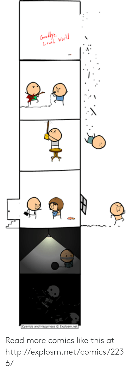 Happiness Explosm: Gody  La Warl  Cyanide and Happiness Explosm.net Read more comics like this at http://explosm.net/comics/2236/