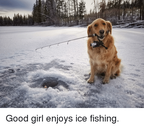 Girl, Good, and Fishing