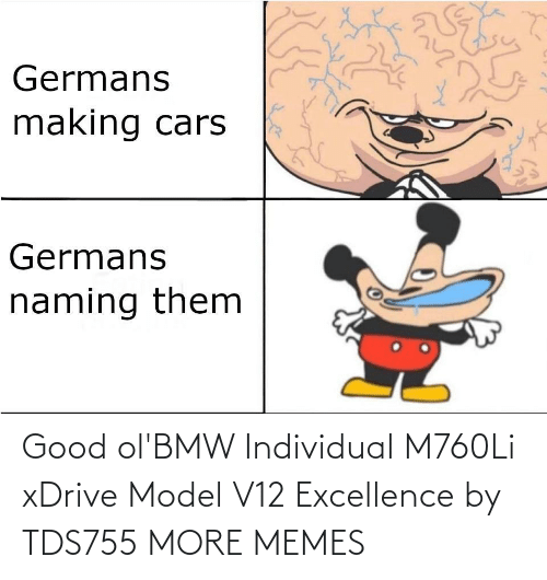 model: Good ol'BMW Individual M760Li xDrive Model V12 Excellence by TDS755 MORE MEMES