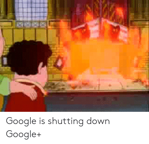 Google, Down, and Shutting Down: Google is shutting down Google+