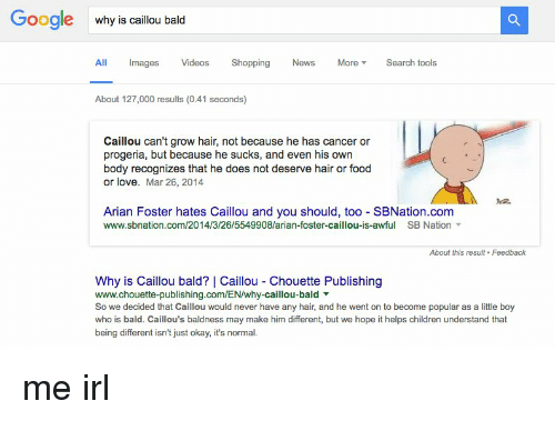 google why is caillou bald all mages videos shopping news more v
