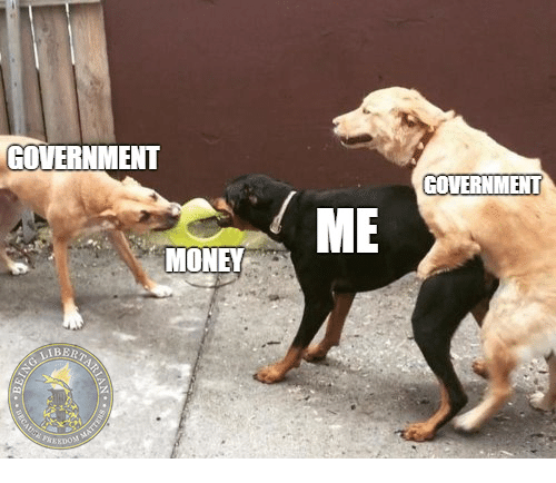 Money and Government: GOVERNMENT  GOVERNMENT  ME  MONEY