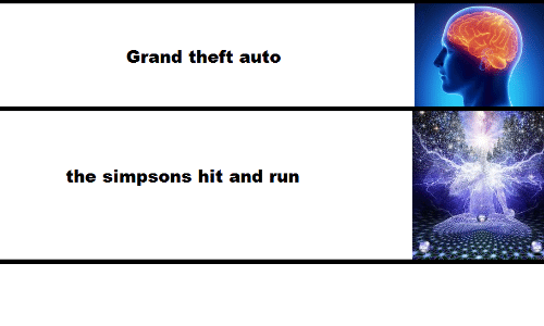 grand theft auto: Grand theft auto  the simpsons hit and run