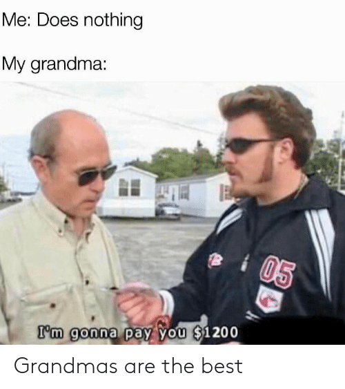 the best: Grandmas are the best