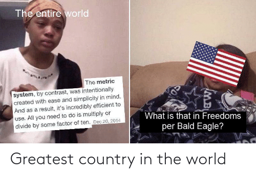 greatest: Greatest country in the world
