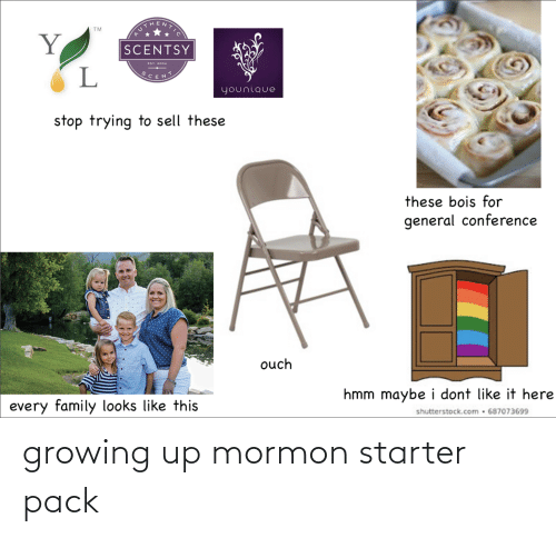 Growing up: growing up mormon starter pack