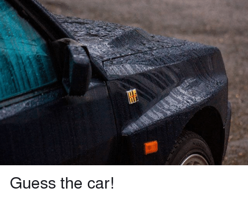 Memes, Guess, and 🤖: Guess the car!