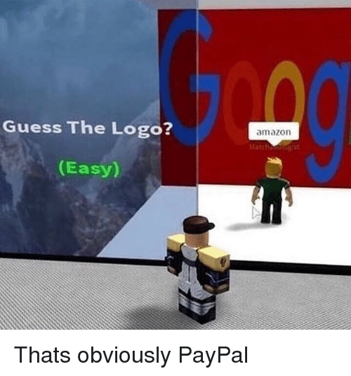 Amazon, Guess, and Paypal: Guess The Logo?  amazon  (Easy) Thats obviously PayPal