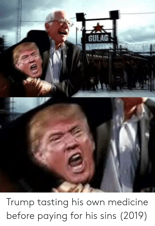 gulag: GULAG Trump tasting his own medicine before paying for his sins (2019)