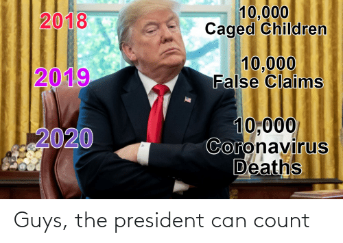 Conservative Memes: Guys, the president can count