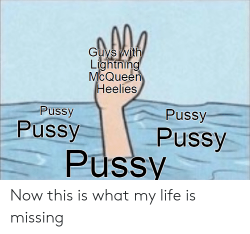 Life, Pussy, and Lightning: Guys with  Lightning  McQueen  Heelies  Pussy  Pussy  Pussy  Pussy  Pussy Now this is what my life is missing
