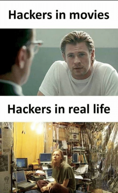 Hackers: Hackers in movies  Hackers in real life