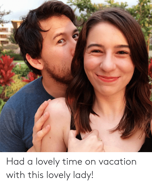 On Vacation: Had a lovely time on vacation with this lovely lady!