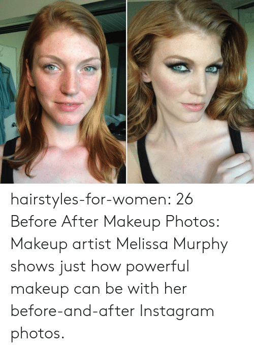 Hairstyles-For-Women 26 Before After Makeup Photos Makeup