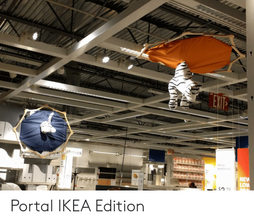Ikea, Portal, and New: Hanger  BUMERANG  NEW  LOW  2 79 Portal IKEA Edition