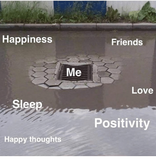 happy thoughts: Happiness  Friends  Me  Love  Sleep  Positivity  Happy thoughts