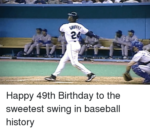 Happy 49th Birthday To The Sweetest Swing In Baseball History
